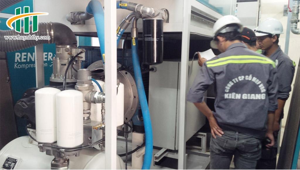 Dự án cung cấp và lắp đặt gói thầu máy nén khí Nhà máy gỗ MDF Kiên Giang -3