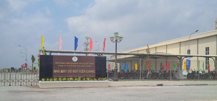 Dự án cung cấp và lắp đặt gói thầu máy nén khí Nhà máy gỗ MDF Kiên Giang