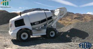 Xe trộn Bê tông tự nạp liệu Fiori - Nhập khẩu nguyên chiếc từ Italy